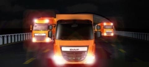 DAF Experience 2.0 - portfolio page