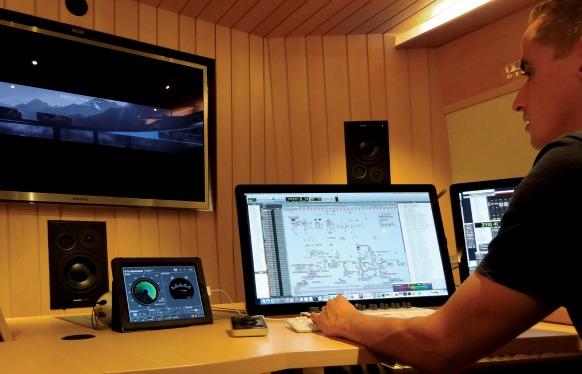 control 01 with loudness radar