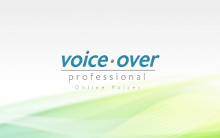 voiceover professional logo - online voices