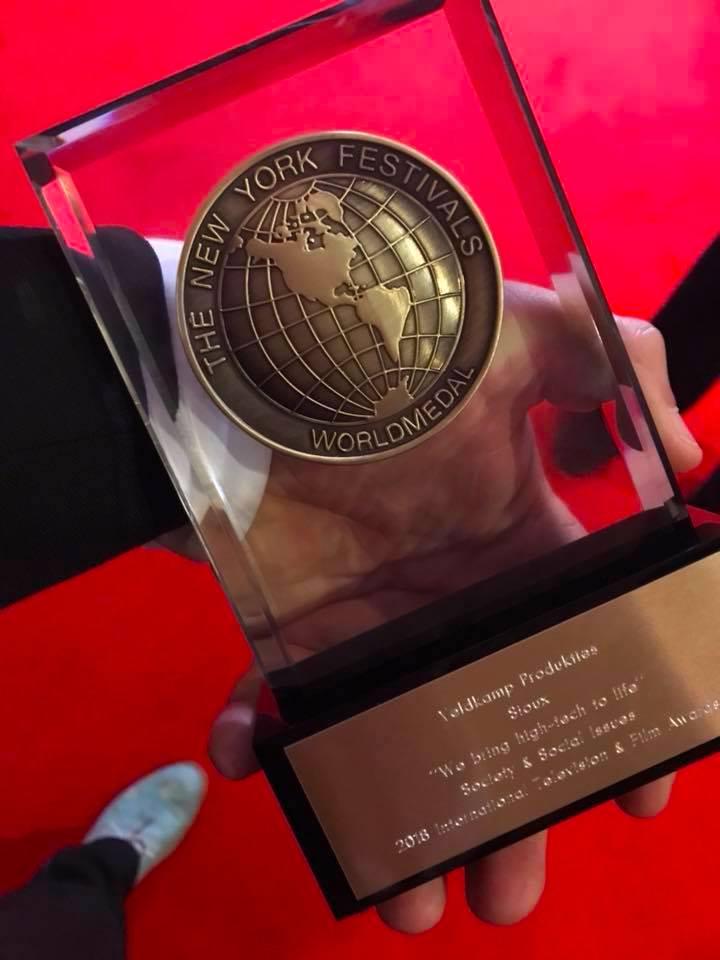 new york festival award medal
