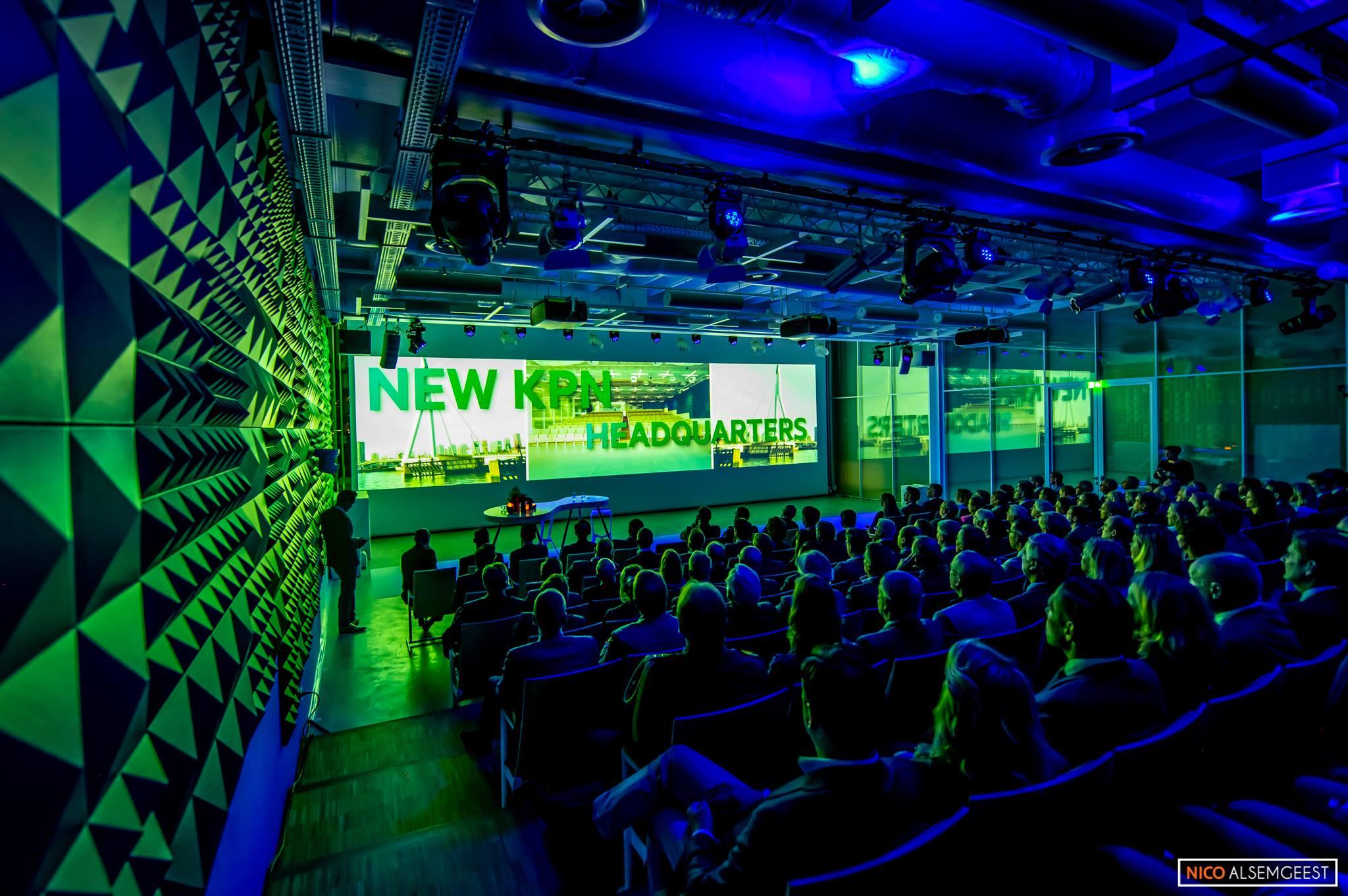 kpn openingshow rotterdam headquarters