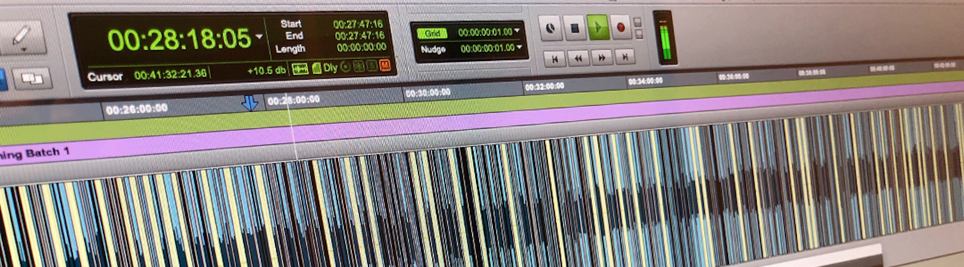 ProTools e-learning recording editing software